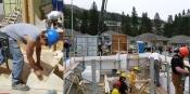 Okanagan College Construction Trade Students